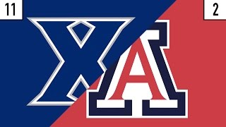 11 Xavier vs. 2 Arizona Prediction | Who