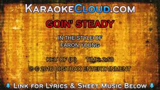 Faron Young - Goin' Steady (Backing Track)