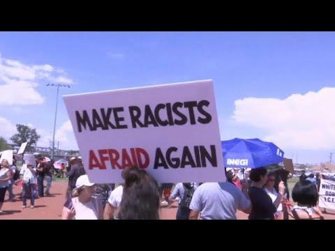 ΗΠΑ: Στο Ελ Πάσο ο Πρόεδρος Τραμπ εν μέσω διαδηλώσεων