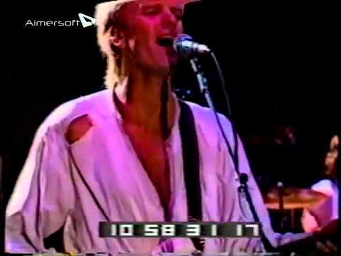 The Police- One World (Not Three) live Oakland 1983