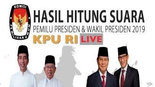 LIVE HITUNG SUARA KPU PILPRES 2019 | Real-Time KPU RI