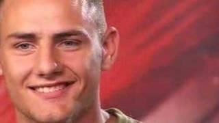 Gambar cover X Factor 4, ep 2, Ryan (itv.com/xfactor)