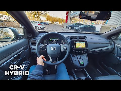 New Honda CR-V Hybrid 2021 Test Drive Review POV