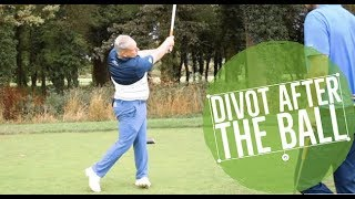Golf: How to Take a Divot After the All and Compress Irons