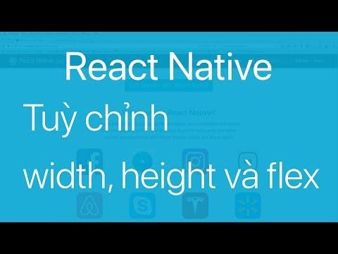 07-Tuỳ chỉnh các thuộc tính width, height và flex