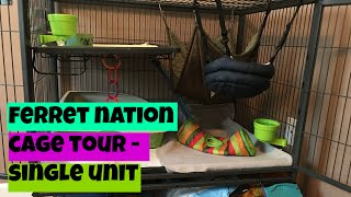 🏡 Ferret Cage Tour & Tips for Choosing a Ferret Cage 🏡