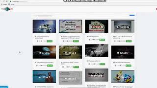 ВидеоБлог VideoBlog обзор личного кабинета
