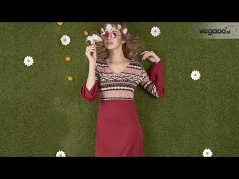 Hippie vrouwen kostuum voor carnaval met accessoires