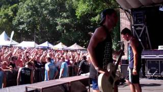 Abandon All Ships- Maria (I Like It Loud), Take One Last Breath- Warped Tour 11 Columbia, MD