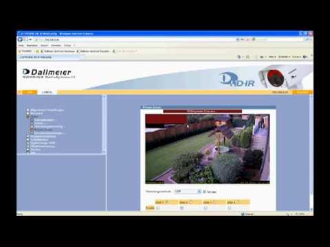 Full HD IP-Kamera mit Infrarot-Beleuchtung - Installation und Konfiguration