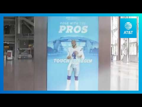 AT&T Stadium Brings The Game Closer with 5G and AR | AT&T-youtubevideotext