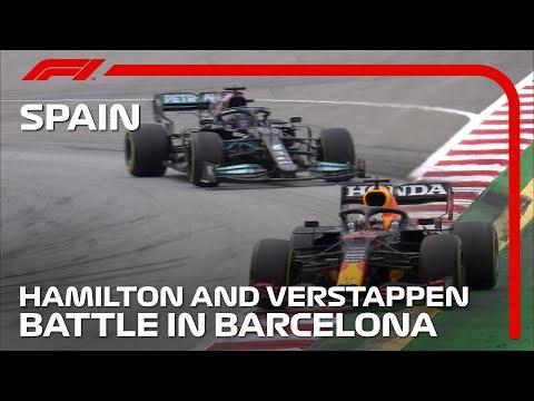 マックス・フェルスタッペンとルイス・ハミルトンの白熱バトルをまとめた動画 F1第4戦スペインGP