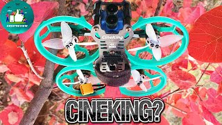 ✔ FPV Квадрокоптер GEPRC CineKing 4K 95mm 3-4S 2 Inch Caddx Tarsier!