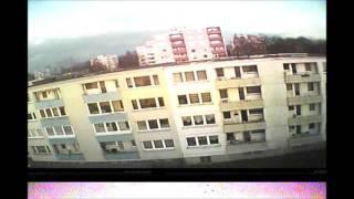 Hubsan x4 H107D flying indoor&outdoor