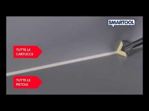 Lisciatore per guarnizioni silicone speciale pistola