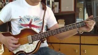 Tony Sheridan & The Beatles - My Bonnie (Bass Guitar Cover)