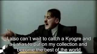 Hitler is Informed that Pokemon Ruby and Sapphire Remakes have been announced