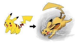Realistic Pokemon Requests #1: Realistic Pikachu, Realistic Mega Lucario