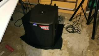 Alto TS212S Powered Subwoofer with Alto TS212 powered Speakers (Sound Test)