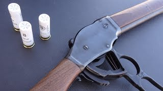 preview picture of video '実弾射撃 ウィンチェスター M1887 (Winchester 1887 Shotgun)'