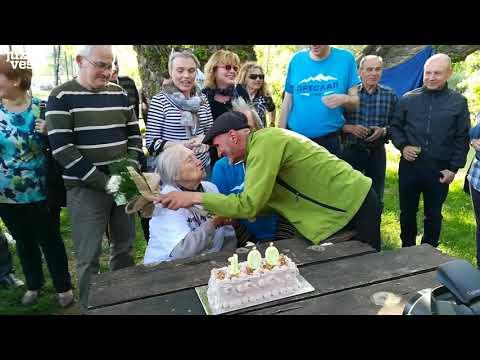 Planinarka iz Niša proslavila 100. rođendan