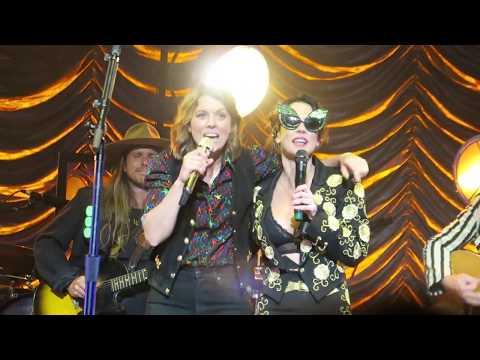 "Queer Eye's Tan France Intro Highwomen Song ""Redesigning Women"" Brandi Carlile Amanda Shires Live"