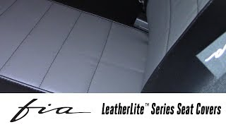In the Garage™ with Total Truck Centers™: Fia LeatherLite™ Series Seat Covers