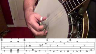 All The Good Times Are Past And Gone. A 5-string banjo tutorial by Paul Gray