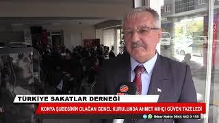 Türkiye Sakatlar Derneği Konya Şubesinde Ahmet Mıhçı güven tazeledi