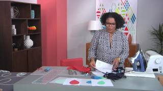 Create Bold Designs With Bias Tape Appliqué On Fresh Quilting With Latifah Saafir (107-3)