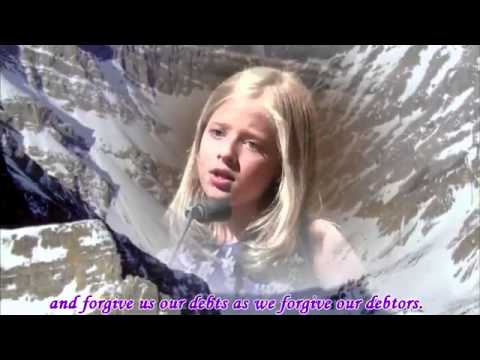 Jackie Evancho sings at a 2011 Concert Tour at Dallas with lyrics