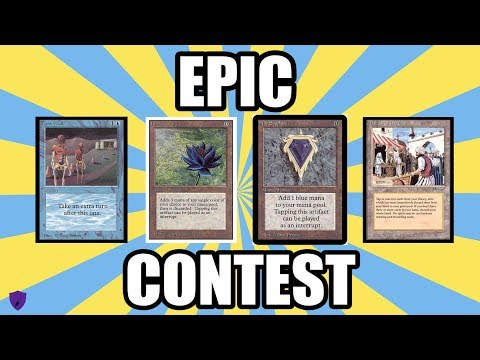 WIN ONE OF EVERY MAGIC CARD IN EXISTENCE – THE MOST EPIC CONTEST IN MAGIC: THE GATHERING HISTORY!!