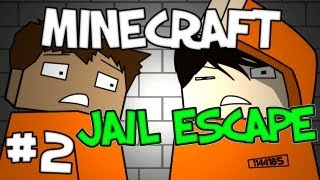 "Minecraft -  ""Jail Escape"" Part 2: Bed Parkour"