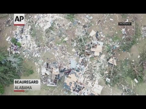 Rescuers are searching for victims after a tornado ripped through the rural Alabama community of Beauregard and killed at least 23 people. (Mar. 4)
