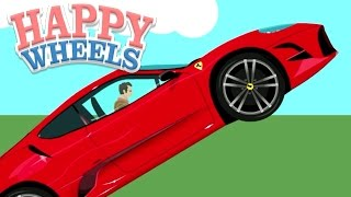 Happy Wheels: Ferrari Fighter!!! - Part 537