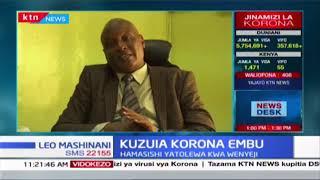 Kuzuia Korona Embu: Hamasishi yatolewa kwa wenyeji, hakujaripotiwa kisa chochote Embu