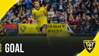 Goal Evert Linthorst l VVV-Venlo - Ajax Amsterdam