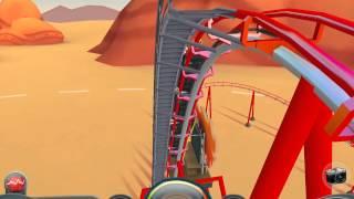 Coaster Crazy HD GAMEPLAY (iPhone,iPod,iPad)