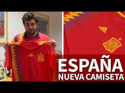 Descubre la nueva camiseta de España para el Mundial de Rusia 2018   Diario AS