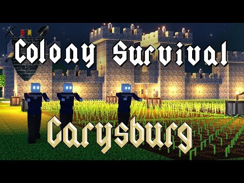 Colony Survival 0.7.0 - #1 -  Together at Last! (4-Player Online!)