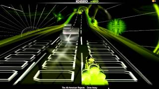 Drive Away - The All American Rejects - Audiosurf
