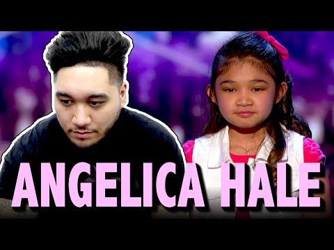Angelica Hale 9-Year-Old Earns Golden Buzzer From Chris Hardwick: America's Got Talent 2017 REACTION