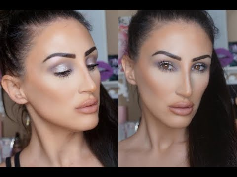 DRUNK KIM KARDASHIAN VOGUE HOLIDAY MAKEUP TUTORIAL...BOUGIE AF