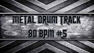 Southern Metal Drum Track 80 BPM (HQ,HD)