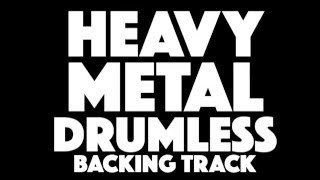 Heavy Metal No Drums Play Along