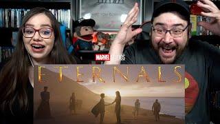 Marvel's ETERNALS - Teaser Trailer Reaction / Marvel Studios Celebrates The Movies / Wakanda Forever