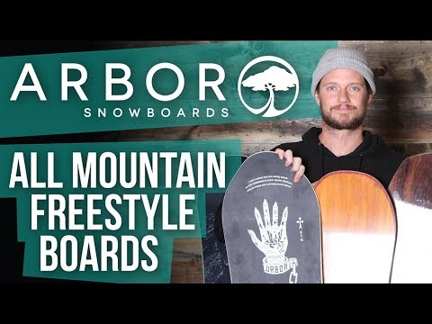 2018 Arbor All Mountian Freestyle Snowboards – Overview – TheHouse.com