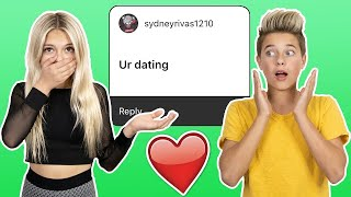 Instagram Assumptions About Me ** RELATIONSHIP EXPOSED**❤️  Gavin Magnus ft. Coco Quinn