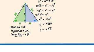 Geom 5.8 Special Right Triangles