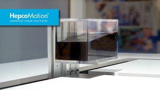 XYZ-Linearachsensystem von HepcoMotion – angetrieben von ABB